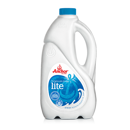 Anchor Fresh White Milk Lite 2L