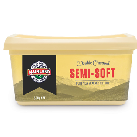 Mainland Semi-soft Salted Butter 500g